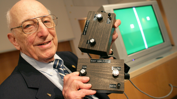 Ralph H. Baer with his Brown Box