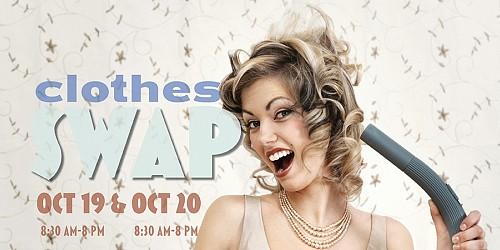 Clothes Swap October 19 & 20